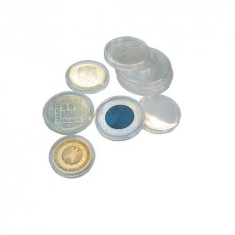 Capsules pour monnaies 14 à 24,5 mm