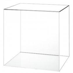 Capot carré en plexiglas