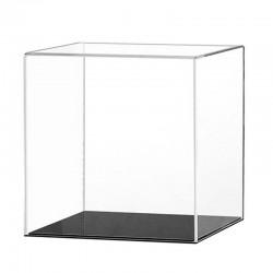 Vitrine plexiglas carrée pour maquette