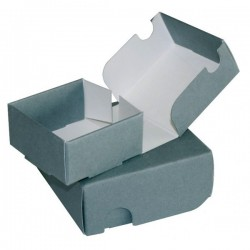 Boîte pour microfilms et microfiches