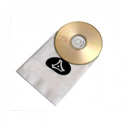 Pochettes doubles en polyester pour CD/DVD
