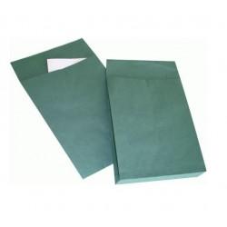 Enveloppe avec soufflet en papier Kraft permanent