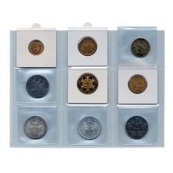 Etuis individuels pour monnaies