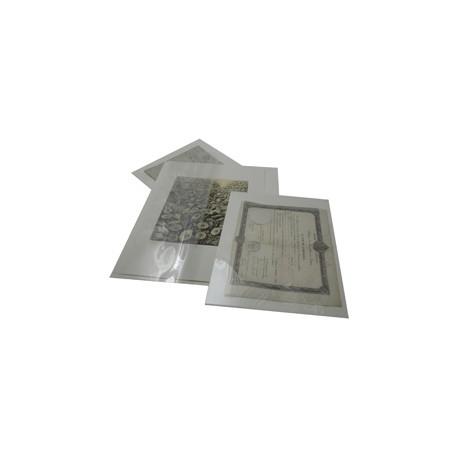 pHidoc – Protecteurs mixtes polyester Haute transparence et carton de conservation.