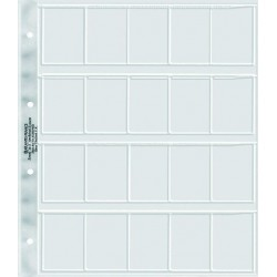Pochettes perforées polyester A4