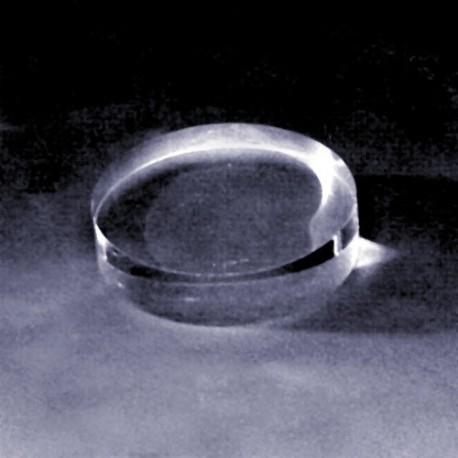 Socle Transparent Disque massif