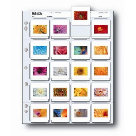 Feuilles d'album polyéthylène pour diapositives