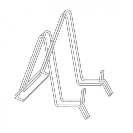 Socle en plexiglas type chevalet