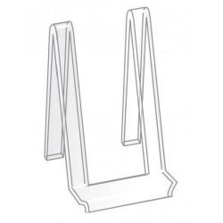 Socle en plexiglas type chevalet droit